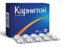 КАРНИТОН ТАБ 1Г N20 УП КНТ-ЯЧ ПК 10*2